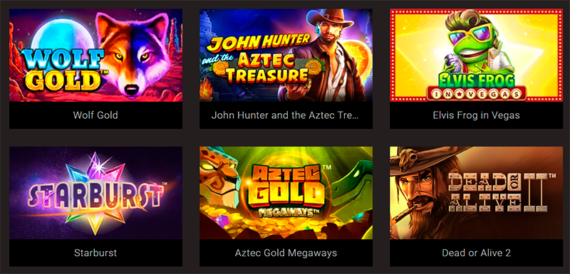 A lot of popular game developers provide their games here.